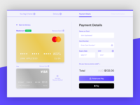 Ecommerce Credit Card Checkout Page