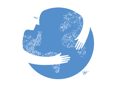 Earth Day (Hug the World)