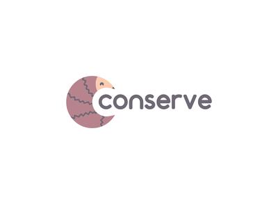 Conserve logo concept
