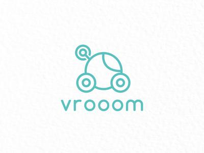 Vrooom - Driverless car company logo