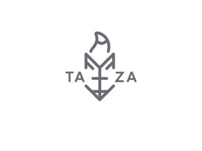 Taza Coffee shop logo