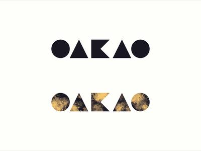 Oakao - fashion wordmark logo