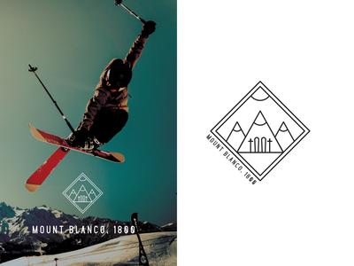 Mount Blanco - ski resort logo