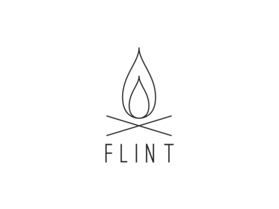 Flint fire logo