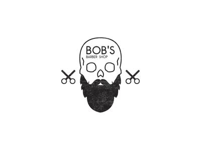 Bob's Barber Shop - logo