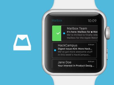 Mailbox for Apple Watch mailbox dropbox apple watch