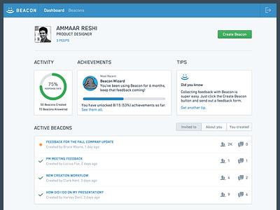 Feedback App ux ui widgets dashboard app feedback