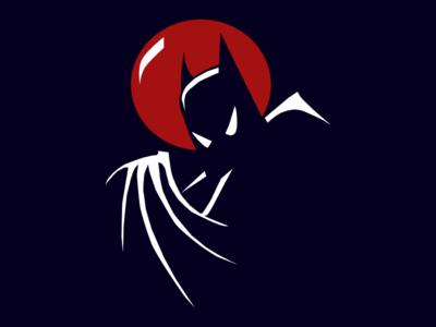 Batman: The Animated Series figma comics cartoon batman the animated series btas batman illustration
