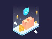 Financial App Illustration 01