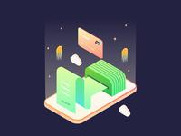 Financial App Illustration 2