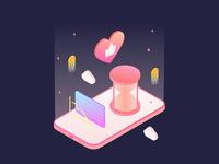Financial App Illustration 03