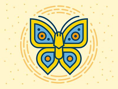 Butterfly  wings eyes butterfly science badges