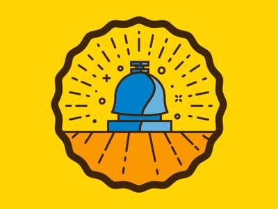 Customer Service Badge