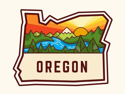 Oregon Badge