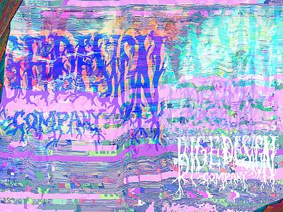 Exploration Eleven glitch lettering braning blackmetal broken truncation error digital emeraldexperiments exploration