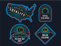 Eclipse Day Badges