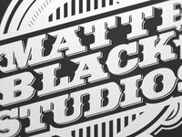 Matte Black Studios Mural Work