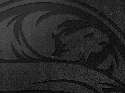 Phoenix Icon logo icon vector texture dark rebrand badge matte black studios