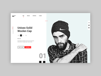 Redesign #Nike - Product Page