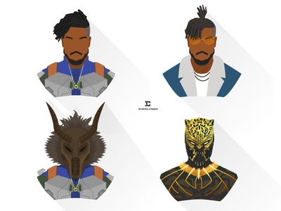 Killmonger Versions