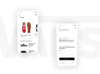 Minimal Mobile UI Shopping App
