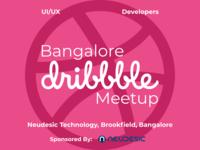 Bangalore Dribbble Meetup