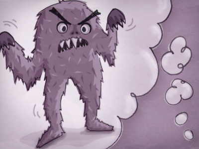 Monster Cognition Illustration monster illustration