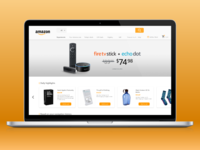 Amazon Homepage redesign
