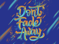 Painterly Lettering 3.0