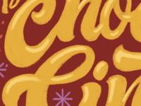 Cookie Packaging Lettering