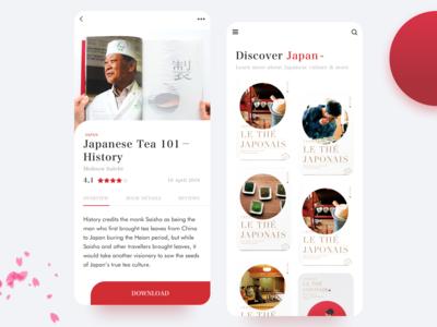 eBook App Concept