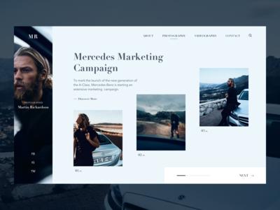 Mercedes Marketing Campaign Concept