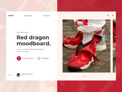 Moodboard Web UI