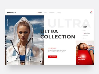 Fashion Product Page UI