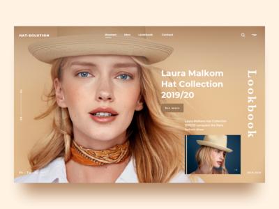Fashion Landing UI