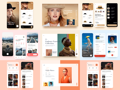 2019 Top 9 product page minimal website mobile clean design music ecommerce food landing app web ux ui travel fashion