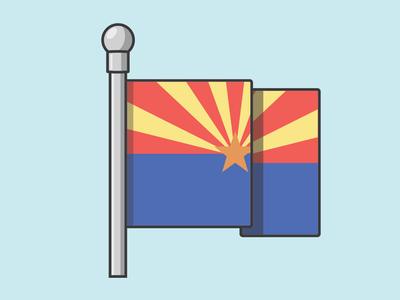 AZ State Flag