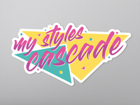 My Styles Cascade sticker