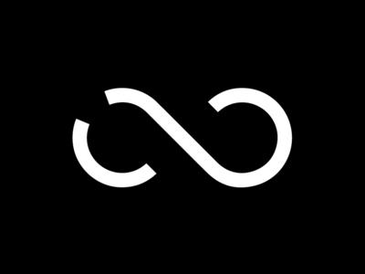 Infinity Logo FORESKO co vector brand flat illustration branding logo design