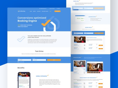 Web Design for CultBooking wordpress website web design uxui ux ui responsive design logo design frontend development frontend design engine cultbooking button branding booking