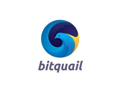 Logo Design for BitQuail bird market quail bitquail branding design currency converter currency exchange logo designs branding logo design cryptocurrency crypto money currency