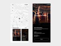 App design - Event locator