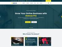 Avacus   Responsive Multipurpose Bootstrap Template