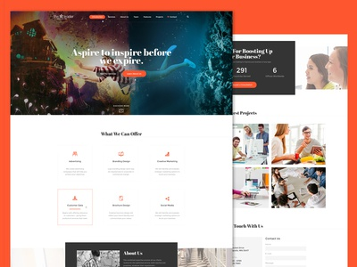 The Leader | Responsive HTML Template