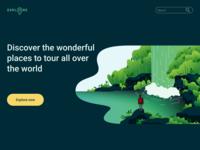 Daily UI #003 - Landing Page