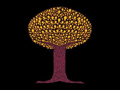 Tree of Light innovation illumination illustration