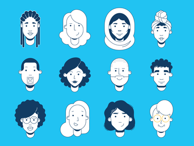 Diversity in Webex illustrations