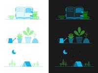Webex illustration color explorations
