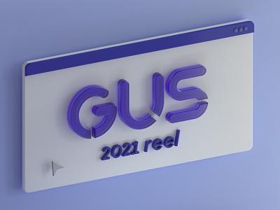 GUS - 2021 Demo Reel 3d animation aftereffects octanerender 2d 3d flat design motion graphics cinema 4d motion design animation