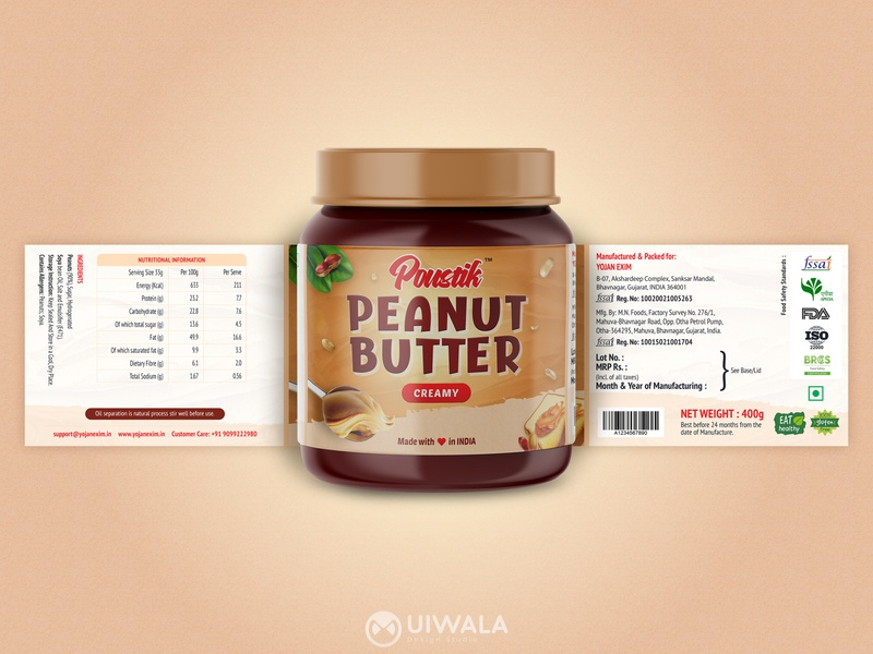 Peanut Butter Package Design